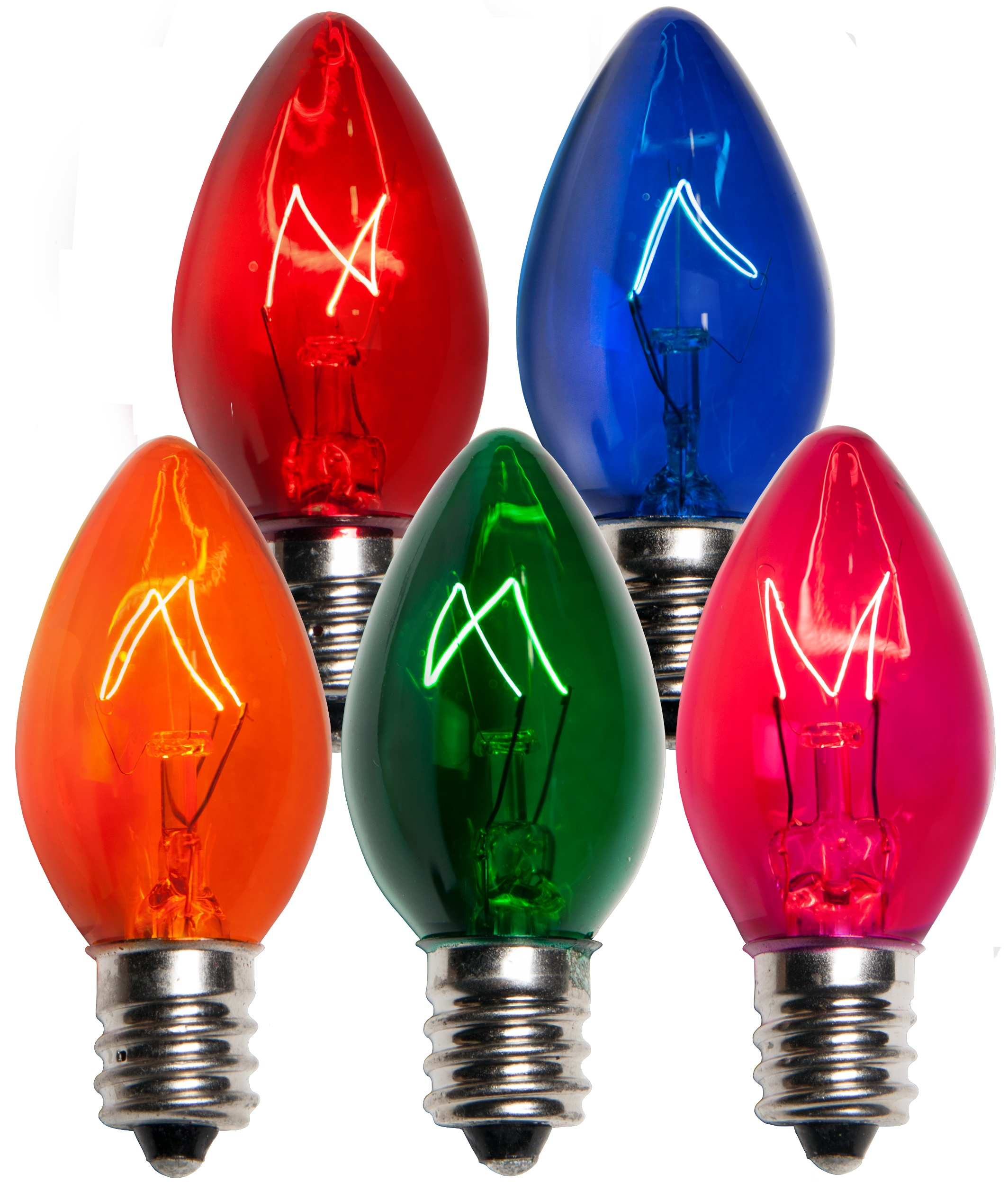 C7 Christmas Light Bulb C7 Multicolor Christmas Light