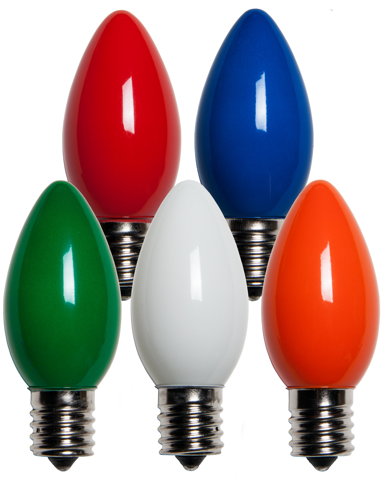 Ceramic Christmas Tree Bulbs