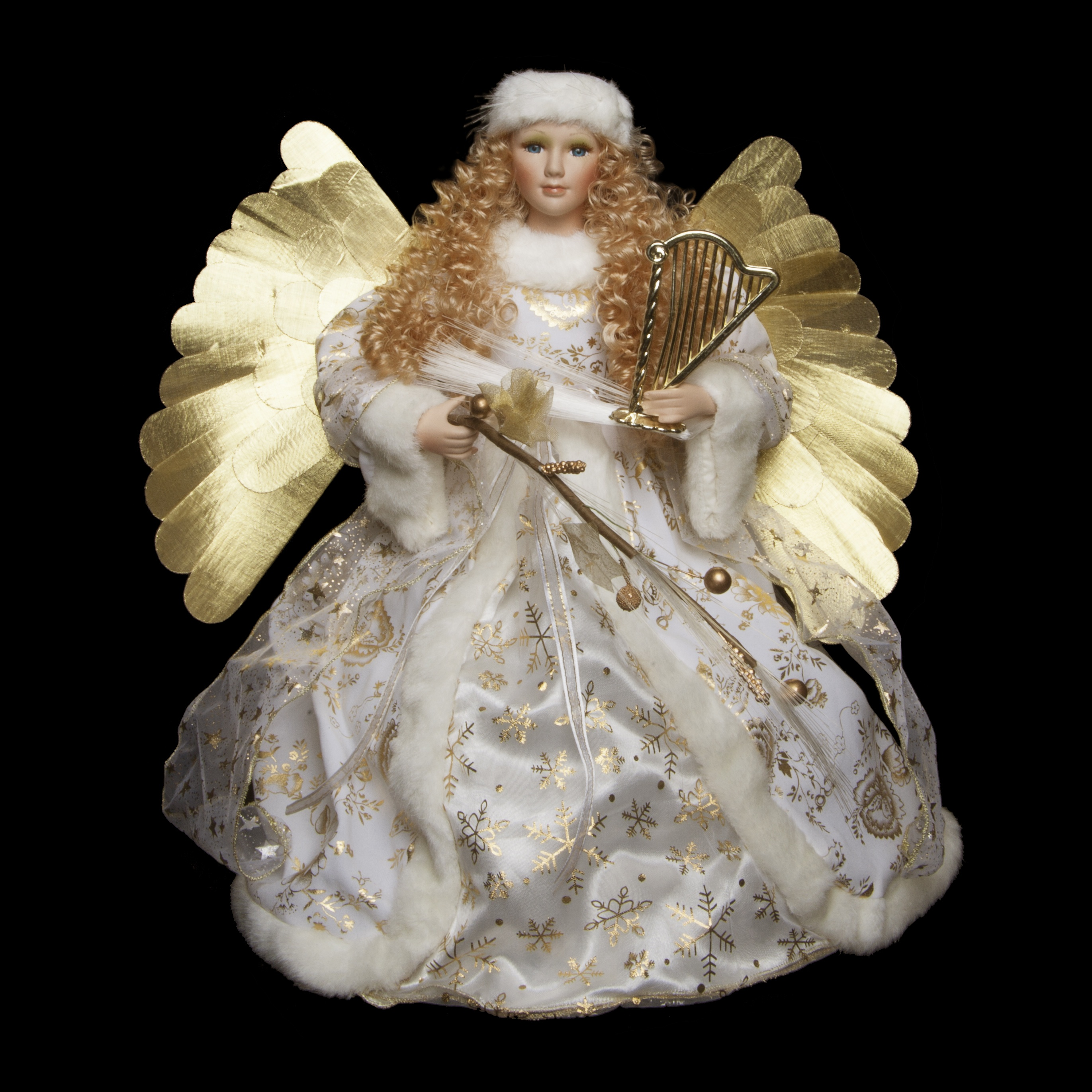 Collectibles nativity sets gifts 18 decorative for Angel christmas decoration