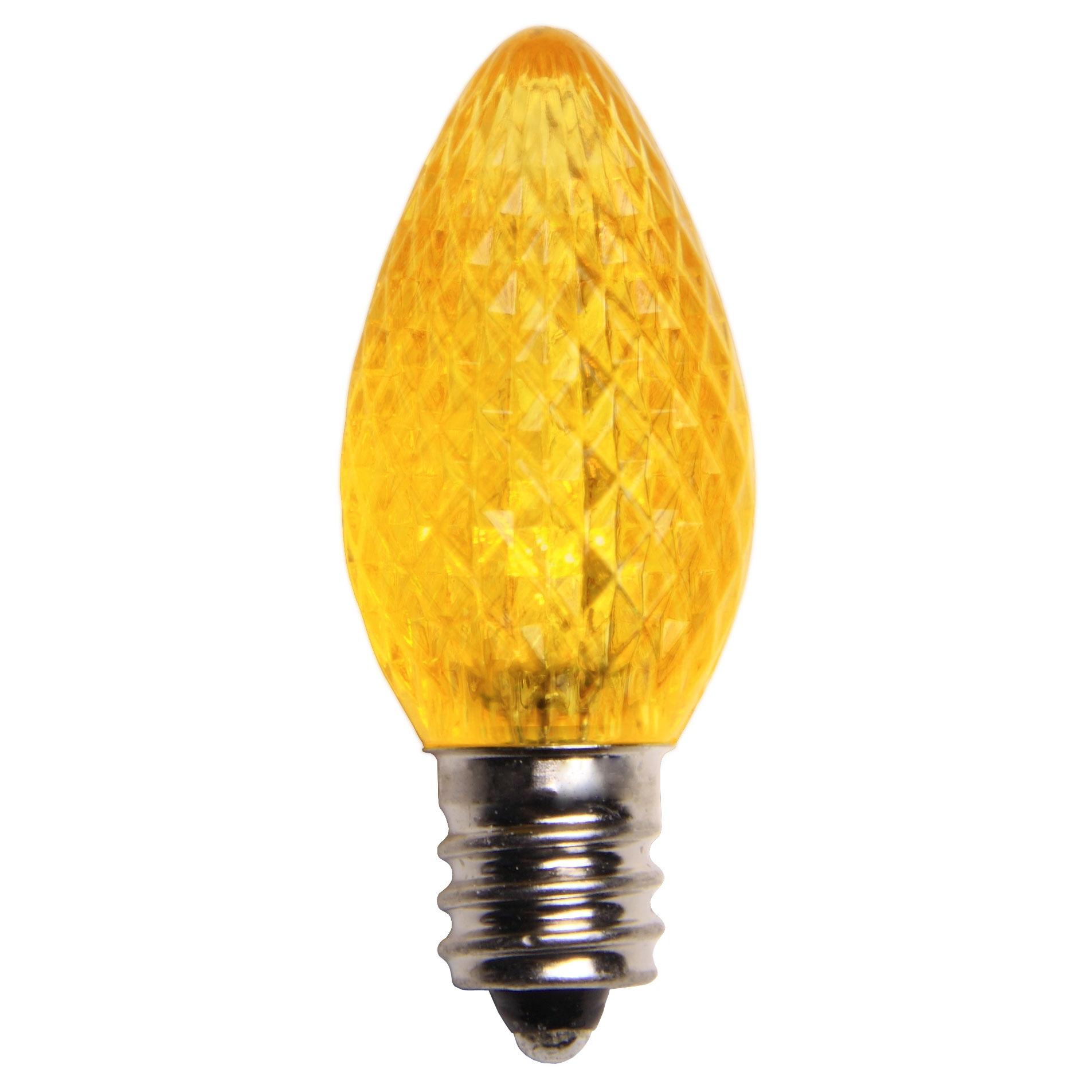 C7 Gold Led Christmas Light Bulbs
