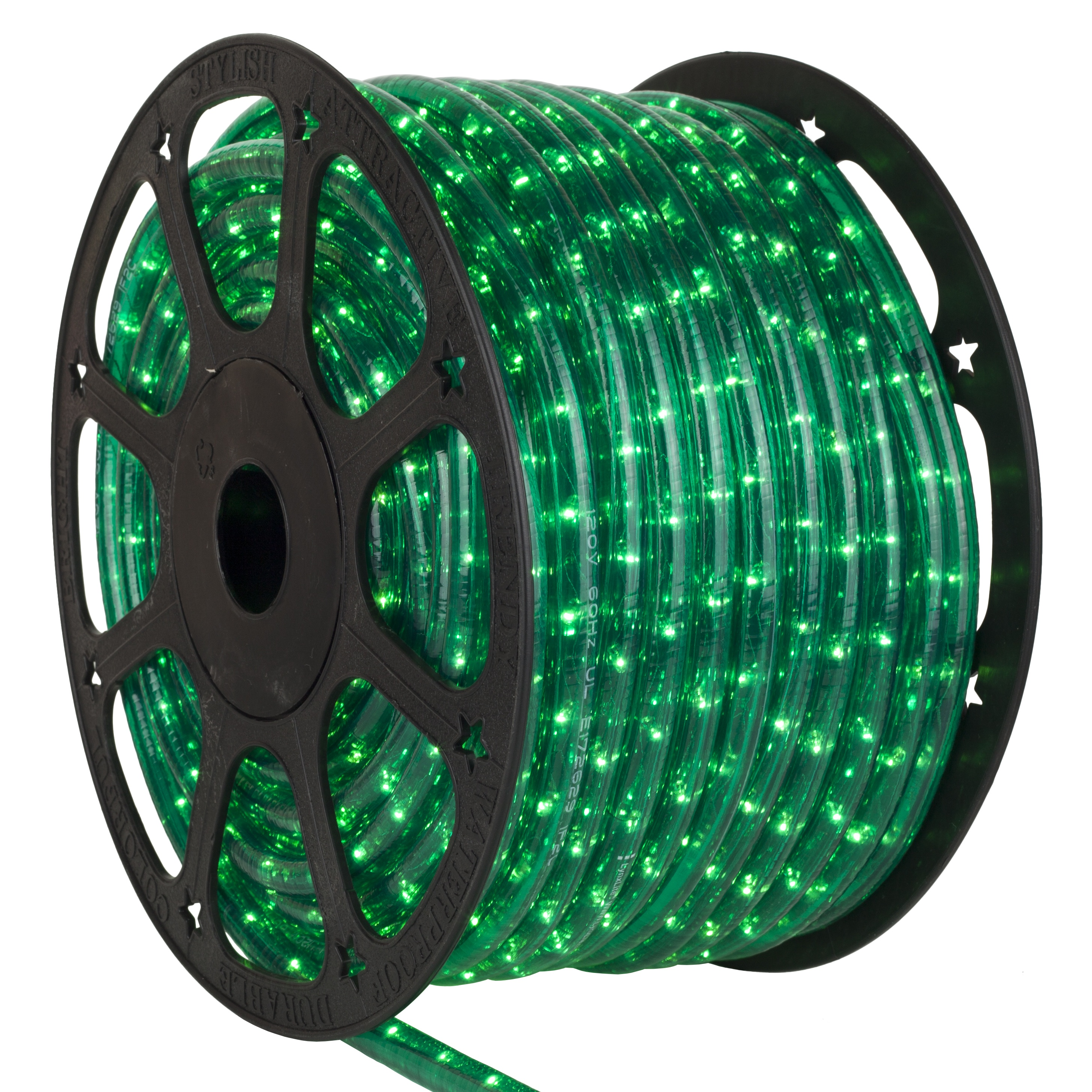 Rope Light 150 Green Mini Rope Light Commercial Spool