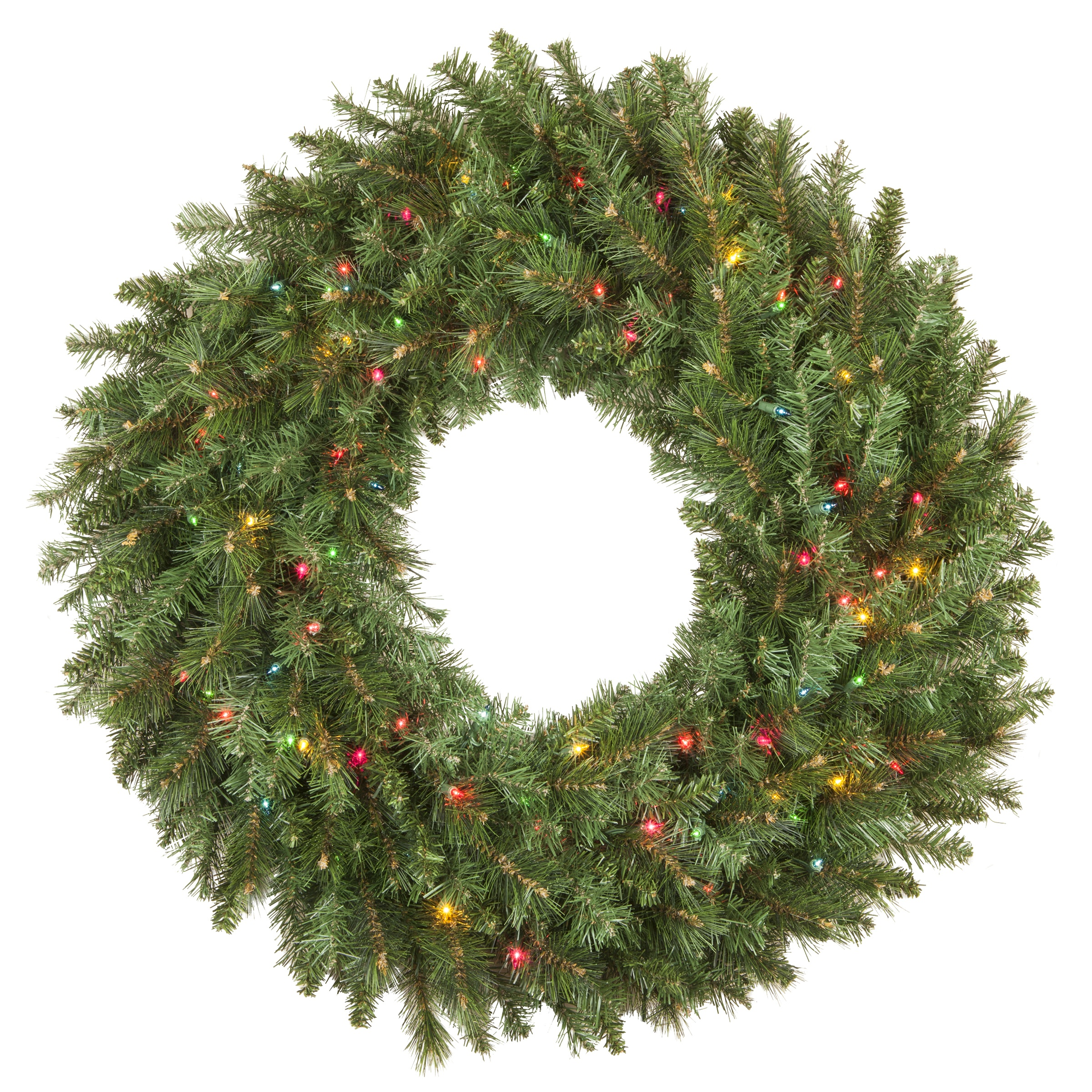 Brighton Fir Prelit Christmas Wreath