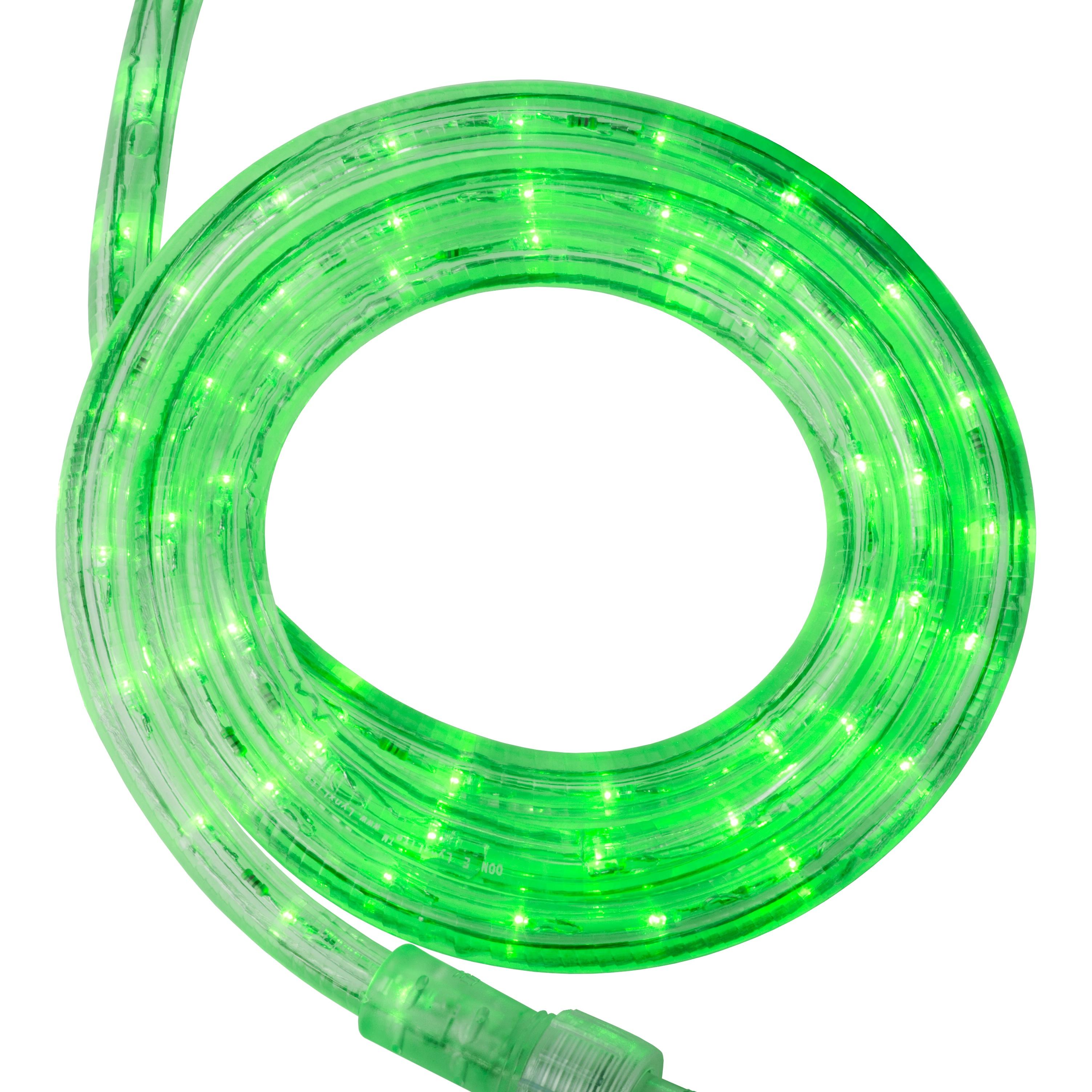 LED Rope Lighting 18 39 True Green LED Rope Light 120 Volt