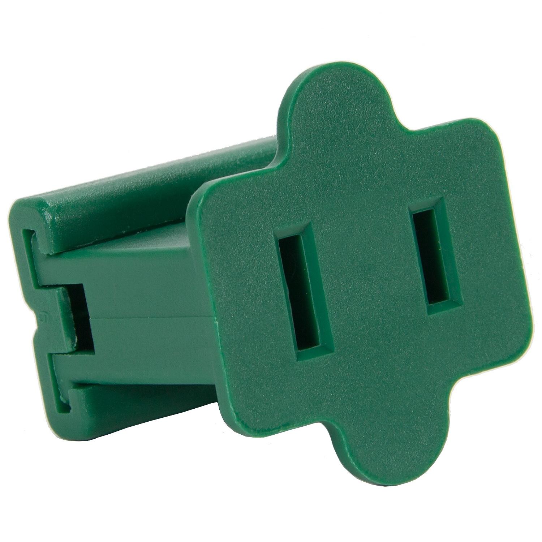 C7 c9 light strings female zip plug spt1 green