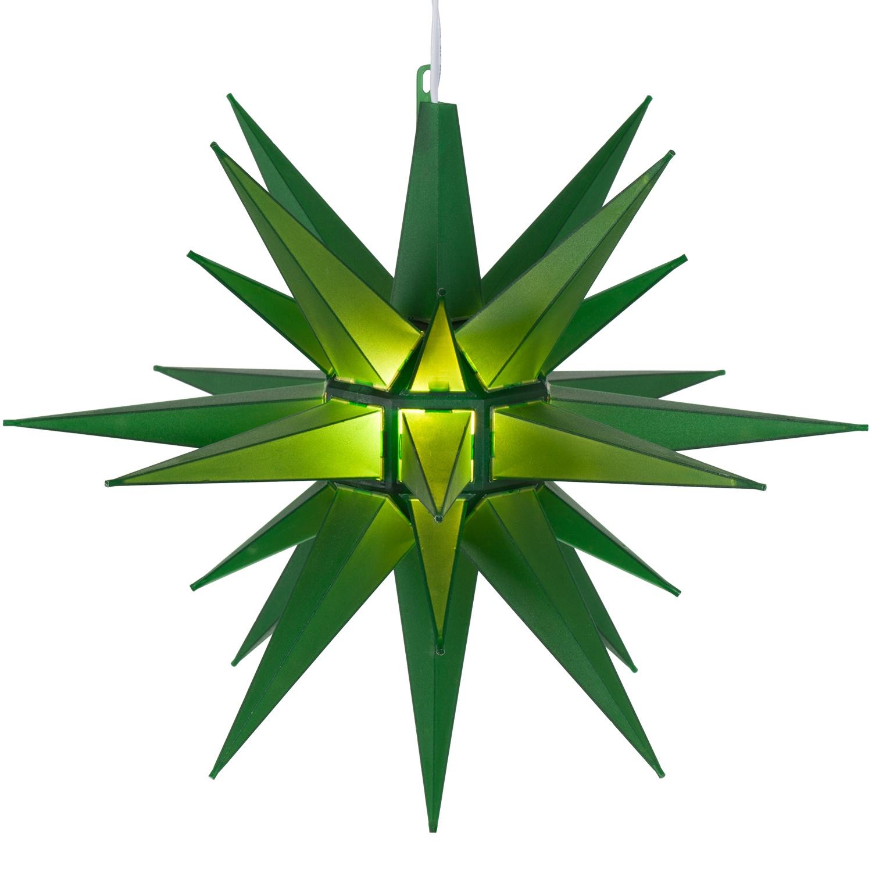 Moravian Stars 14 Quot Green Moravian Star