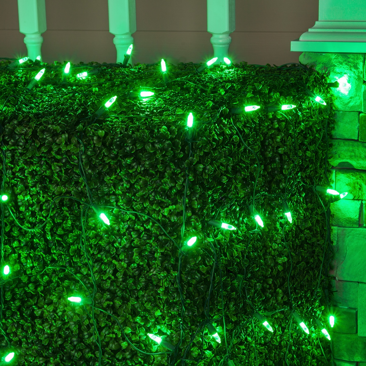 Led Net Lights M5 4 X6 Pure Green Led Net Lights Green