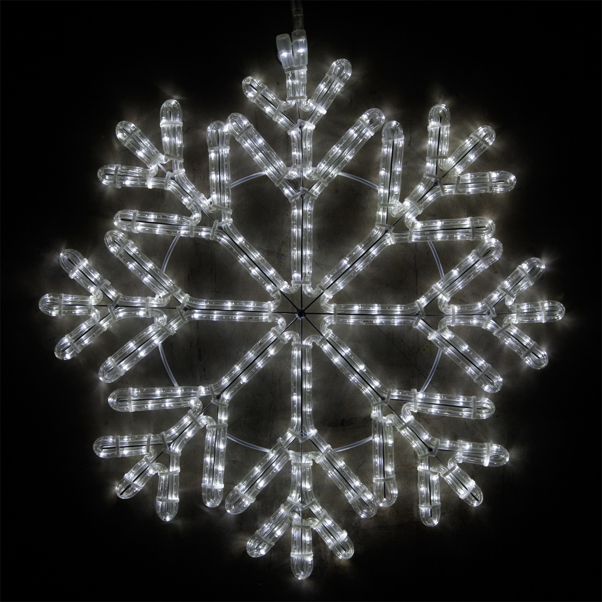 Icicle Christmas Lights White