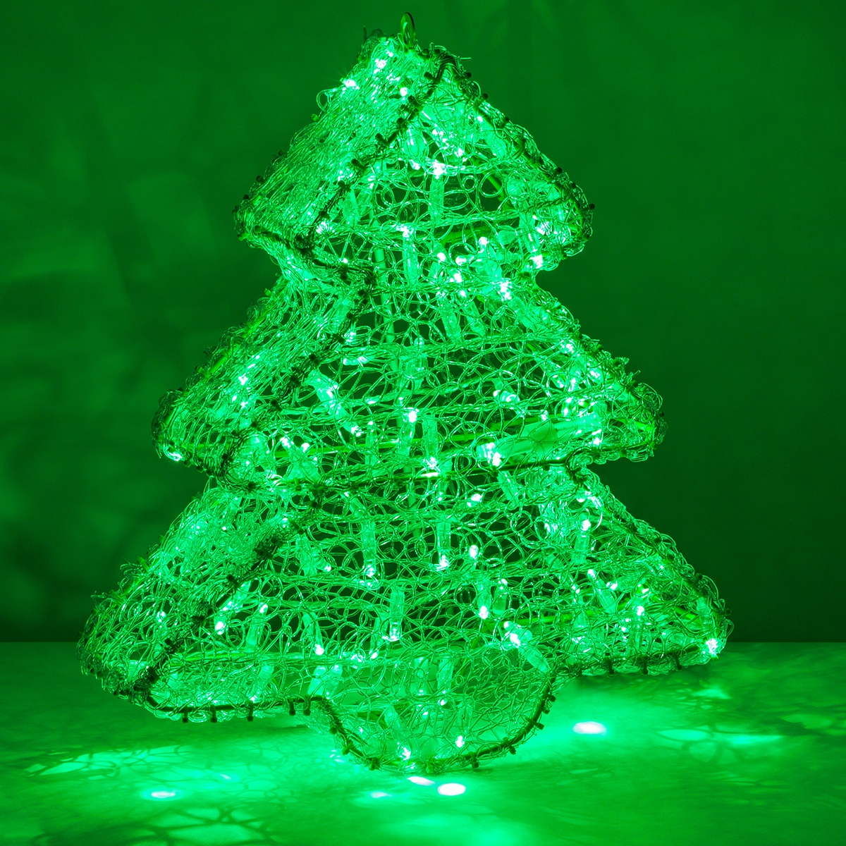 Outdoor Decoration 20 Quot Green Led Dimensional Christmas Tree