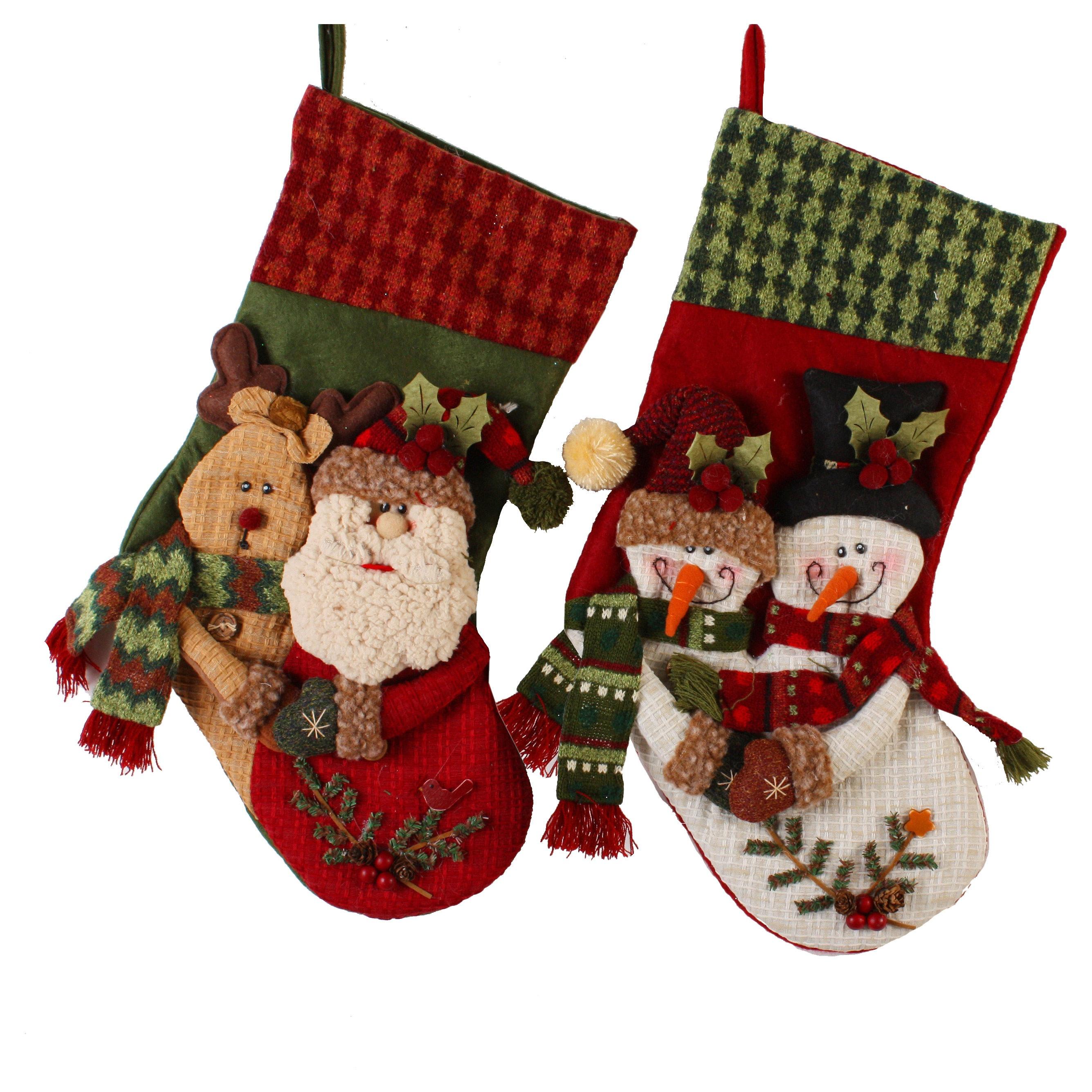 Snowman Christmas Stockings