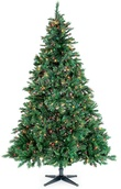 8.5' Full Pre-Lit Cumberland Fir Tree, 1000 Multicolored Lamps