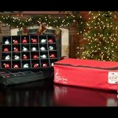 Double Tray Ornament Storage Box