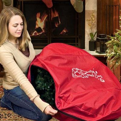 "Santa's 36"" Wreath Bag (W/ Direct Suspend)"
