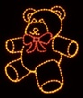 Teddy Bear With A Bright Red Bow