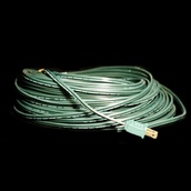 SPT2 100' Green Wire With Male Plug