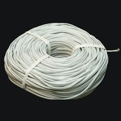 500' White Bulk Extension Wire, 7 Amp, Indoor / Outdoor Use