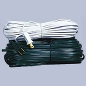 500' White Bulk Extension Wire, 10 Amp, Indoor / Outdoor Use