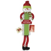 Wooden Snowman Christmas Card Holder, 30""
