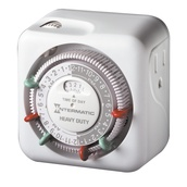 Heavy-Duty Grounded Timer - Indoor