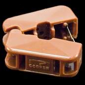 Brown Snap-On Female Outlet