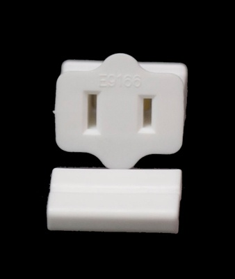 Female Zip Plug SPT1, White