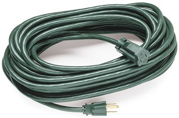 40' Green Medium Duty Outdoor Extension Cord