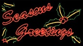 Seasons Greetings With Holly