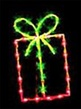 3' X 1.5' Gift Package, Purple and Green Lamps