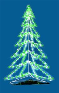 18' C7 Silhouette 3-Dimensional Tree