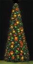 12' Rocky Mountain Pine Tree, C9 Multicolor Lights