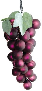 Giant PVC 35 lights Grape Cluster - Purple