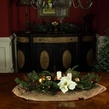 """42"""" Vermont White Candle Centerpiece With Battery Operated  Lights"""