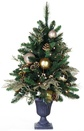 3' Royal Gold Battery Operated Table Top Potted Tree