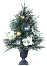 3' Battery Operated  Aspen Silver Table Top Potted Tree