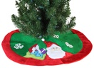 "20"" Mini Christmas Tree Skirt with Santa"