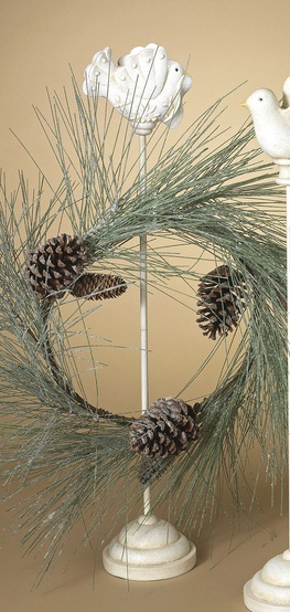 Bird Wreath Hanger Stand