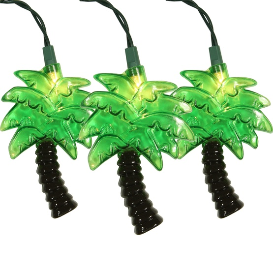 10 Light Palm Tree Novelty Light Set