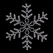3' Giant White LED Snowflake