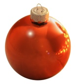 "4.75"" Henna Ball Ornament - Shiny Finish"