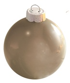 Mercury Glass Ball Christmas Ornament