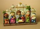Jerusalem Christmas Nativity Scene, 5 Piece Set