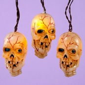Battery Operated Musical Skull Lights