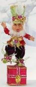 "14.5"" Mark Roberts Festivities Elf Stocking Holder"