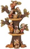 """12"""" Baby Christmas Nativity Tree"""