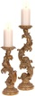"15.5"" Small Scroll Candle Holder"