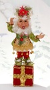 "15"" Mark Roberts Sugar & Spice Elf Stocking Holder"