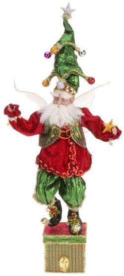 "22"" Christmas Tree Fairy Stocking Holder"