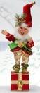 "19"" Mark Roberts Deck the Halls Elf Stocking Holder"