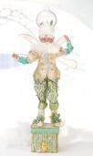 "23.5"" Snowglobe Fairy Christmas Stocking Holder"