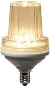 C7 Strobe / Commercial Twinkle Warm White LED Christmas Bulb