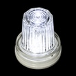 C7 Strobe / Commercial Twinkle Cool White LED Christmas Bulbs